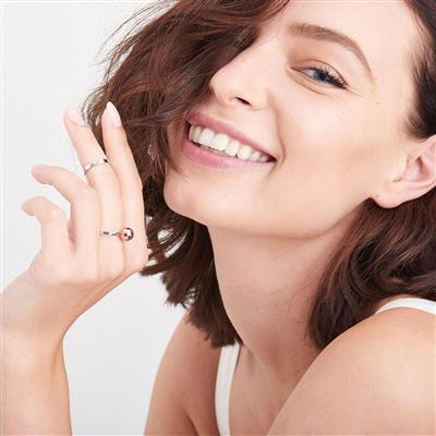 ANIA HAIE ORBIT DOUBLE RING SET 925S