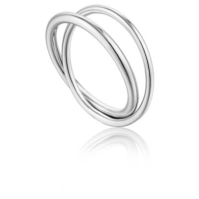 ANIA HAIE MODERN DOUBLE WRAP RING 925S