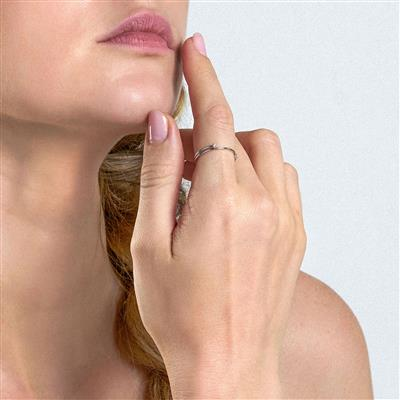 ANIA HAIE SHIMMER DOUBLE RING 925S