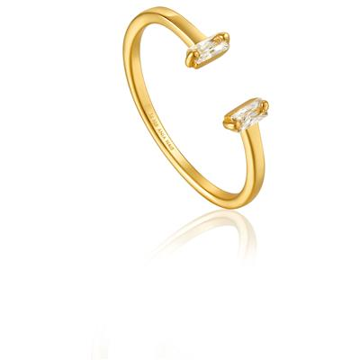 ANIA HAIE GLOW ADJUSTABLE RING 925S