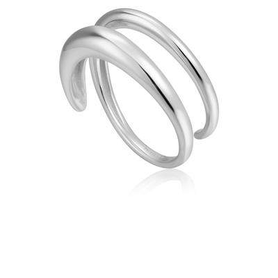 ANIA HAIE LUXE TWIST RING 925S
