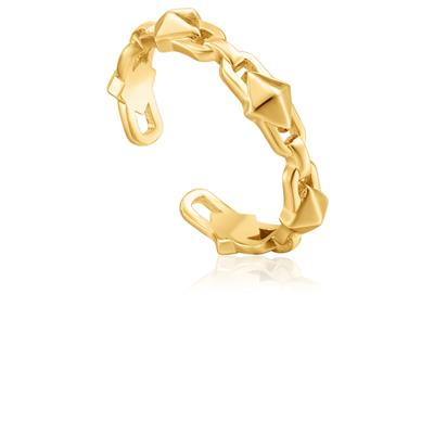 ANIA HAIE SPIKE ADJUSTABLE RING 925S