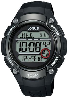 LORUS MENS 50MM 100M CHRONOGRAPH
