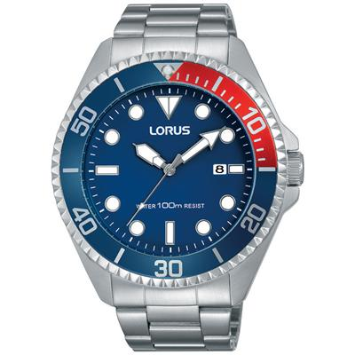 LORUS MENS 44MM 100M'