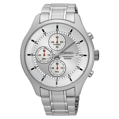 SEIKO MENS 43MM 100M CHRONOGRAPH