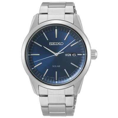 SEIKO MENS SOLAR 40MM 100M SAFIR