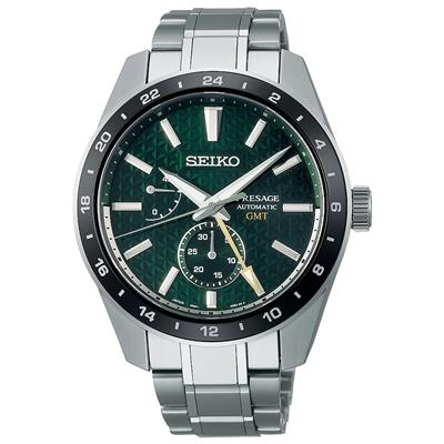 SEIKO PRESAGE PREMIUM AUTOMATIC GMT 42MM 100M'