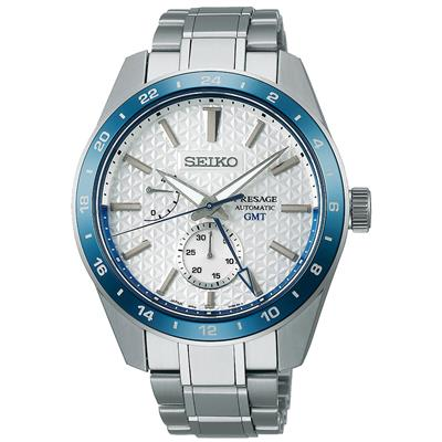 SEIKO PRESAGE PREMIUM AUTO GMT 42MM 100M LIMIT