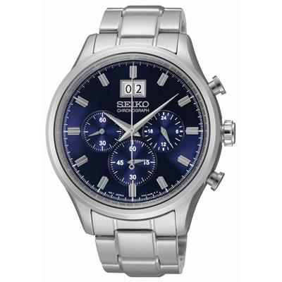 SEIKO MENS 42MM 100M CHRONOGRAPH'
