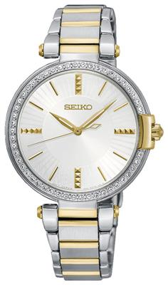 SEIKO LADIES 32MM 49 SWAROVSKI CRYSTALS