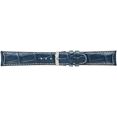 GUTTUSO ALLIGATOR CALF BLU