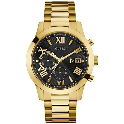 GUESS MENS NIGHT LIFE 45MM 50M